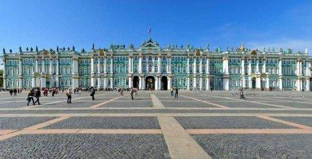 Pałac Zimowy, w którym mieści się Ermitaż